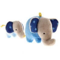 Игрушка-хваталка для малыша sigikid, Голубой Слоник, коллекция Красные Звезды