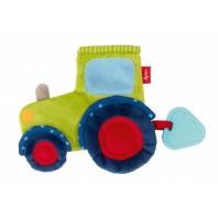 Мягконабивная игрушка sigikid, шуршащий комфортер Трактор, коллекция Классик