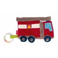 Мягконабивная игрушка sigikid, шуршащий комфортер Пожарная Машина, коллекция Классик