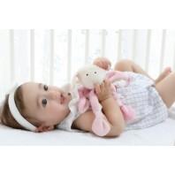 Мягконабивная игрушка sigikid, комфортер знаки Зодиака Овен розовый, коллекция Классик