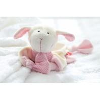 Мягконабивная игрушка sigikid, комфортер знаки Зодиака Лев розовый, коллекция Классик