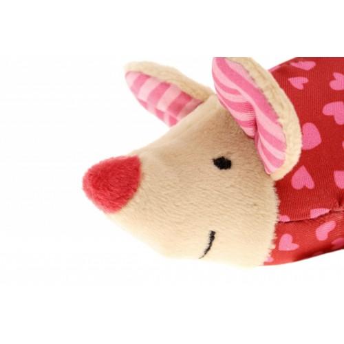 Игрушка хваталка для малыша sigikid,  Розовая Мышка,   коллекция Красные Звезды