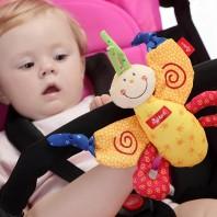 Развивающая мягконабивная игрушка  sigikid, Бабочка, коллекция Активный Малыш