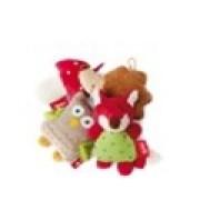 Развивающая мягконабивная игрушка  sigikid, Лесные звери, коллекция Активный Малыш