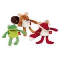 Игрушка Сигикид , мягкая кукла на палец, Набор Лес