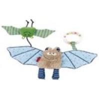 Мягконабивная игрушка sigikid, голубая Летучая мышь, коллекция Городские Дети
